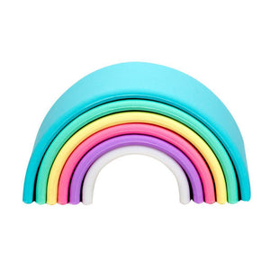 Pastel Rainbow - 6 pieces