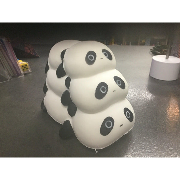 Jumbo Soft Triple Panda Squishy - Slow