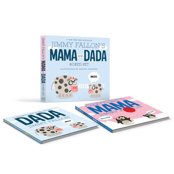 Jimmy Fallon's MAMA and DADA Boxed Set | by Jimmy Fallon, illustrated by Miguel Ordóñez