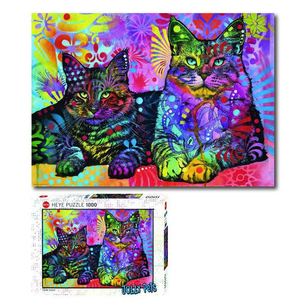 Jolly Pets, Devoted 2 Cats - 1000 piece
