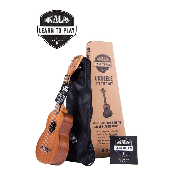 Kala Learn To Play - Starter Kit (soprano/mahogany)