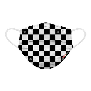KIDS FUN MASKS - Skater and Checkers -  (6-PACK)