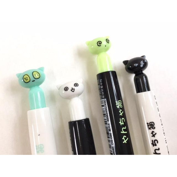 Gel Pen - Kitty Cat Retractable