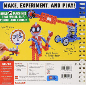 Back cover, LEGO Gadgets box