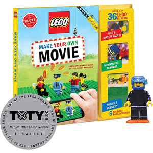 Lego Make Your Own Movie package with TOTY award medallion