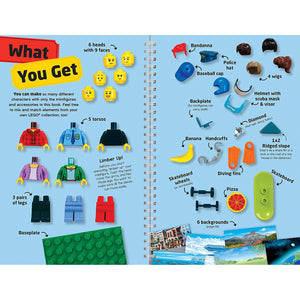 Sample page showing what you get in the kit.