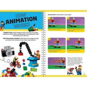 Sample page explaining how animation works.