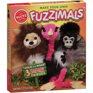 Make Your Own - Fuzzimals Safari