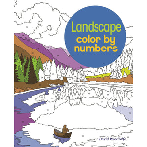 Landscape Color By Numbers | by David Woodroffe & Martin Sanders