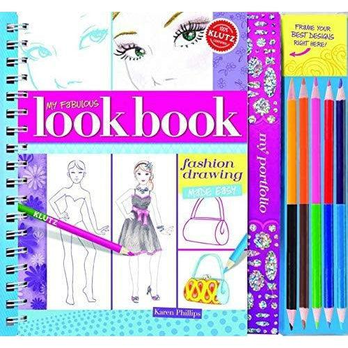 Fashion drawing cookbook cover