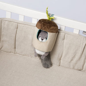 Lullaby Squirrel - Musical Pull Toy