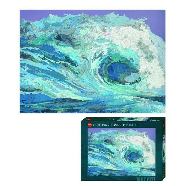 Matther Cusic, Map Wave - 2000 piece