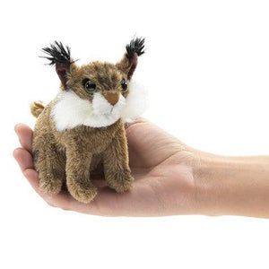 Mini Bobcat - Finger Puppet