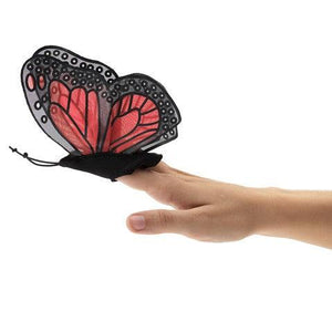 Mini Monarch Butterfly - Finger Puppet