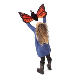 Monarch Life Cycle - Three-Stage - Reversible Hand Puppet