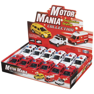 MOTOR MANIA EMS VEHICLES