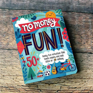 no money fun activity cards box