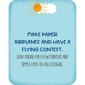 sample activity card - make paper airplanes