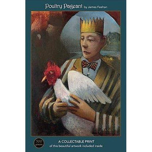 Poultry Pageant - 500-Piece Velvet-Touch Jigsaw Puzzle