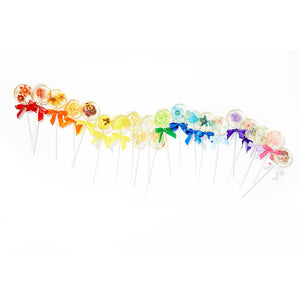 Flower Lollipops