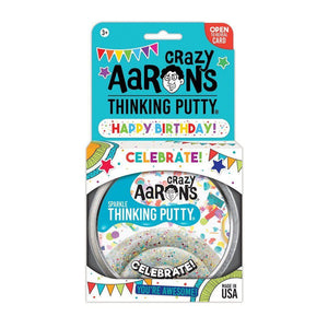 Crazy Aaron's Putty - Celebrate! - 4-inch Tin