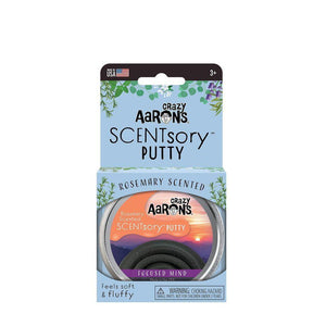 Aromatherapy Putty - Focused Mind - Rosemary Scented