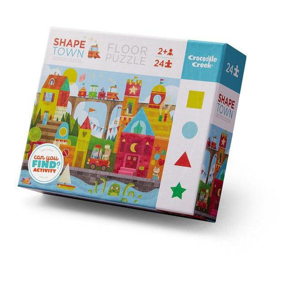 Puzzle - Early Learning/Shape Town - 24 pc