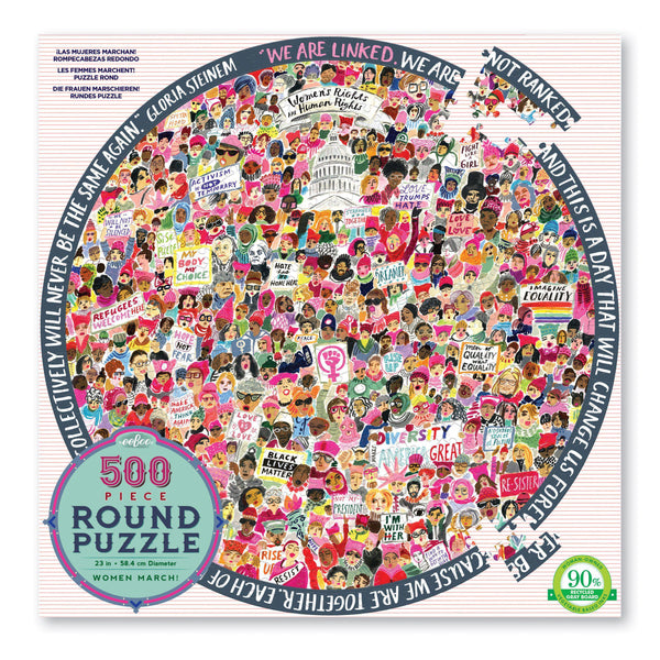 Women March! - 500 Piece - Round