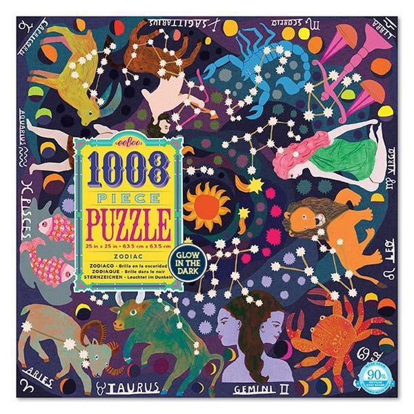 ZODIAC - 1008 Piece - Glow-in-the-dark