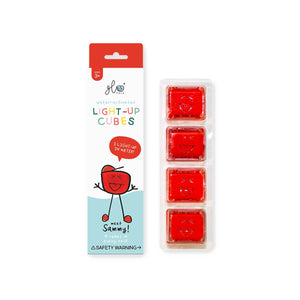 Glow Pals - Sammy, Red (4-pack)