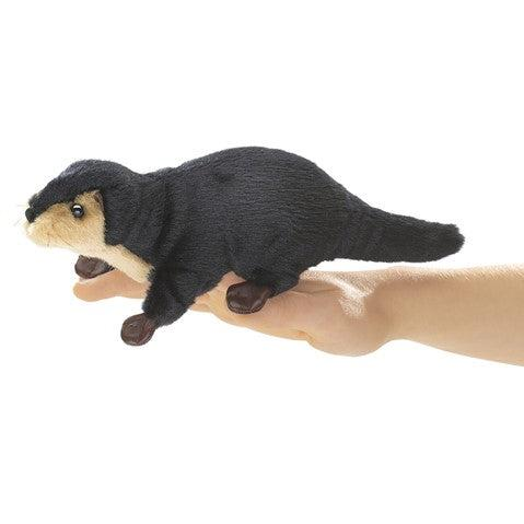 Mini River Otter - Finger Puppet