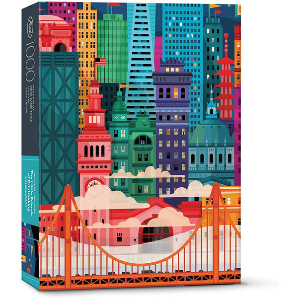 San Francisco by Little Friends of Printmaking - 1000 Piece
