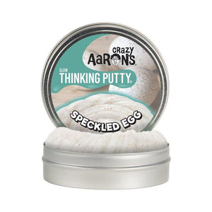 Crazy Aaron's Putty - Speckled Egg - Glow Thinking Putty