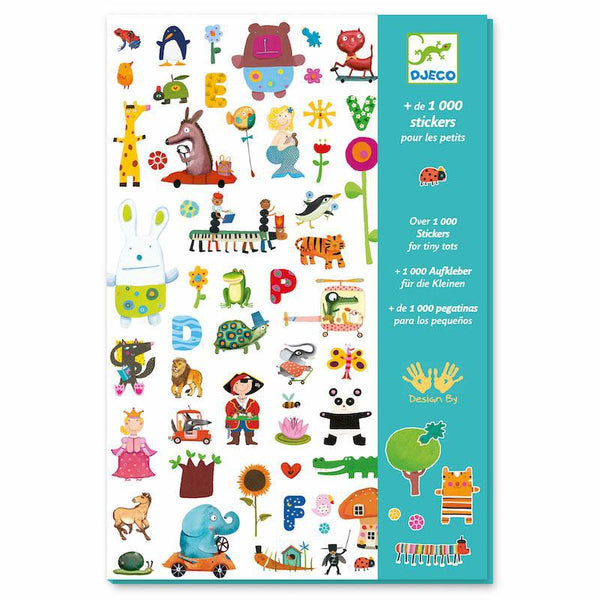 Stickers - 1000 Stickers for Little Ones