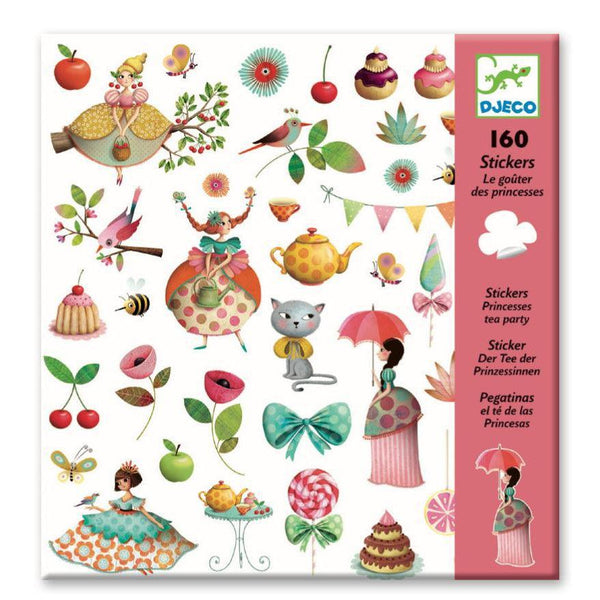 Stickers - Princess Tea Party (160 Stickers)