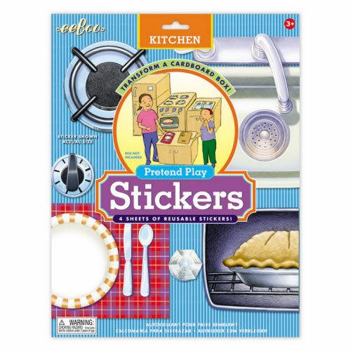 STICKERS - Kitchen PRETEND PLAY