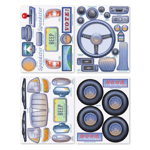 STICKERS - Car PRETEND PLAY