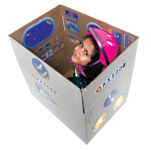 STICKERS - Spaceship PRETEND PLAY