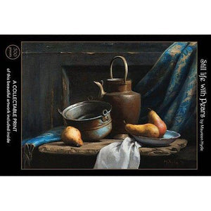 Still Life with Pears - 500-Piece Velvet-Touch Jigsaw Puzzle