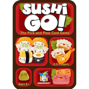 Sushi Go! Outer tin packaging.