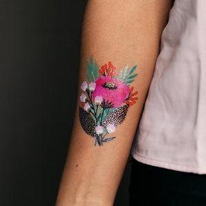 May Bloom By Jess Phoenix - Metallic Tattoo - Set of 2