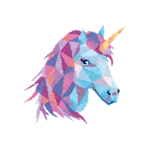 Stitched Unicorn, By Velvet Pony - Tattoo - Set of 2