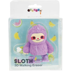Sloth Walking 3D Eraser