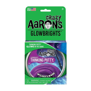 Crazy Aaron's Putty - Wizard's Wand - Glow Thinking Putty