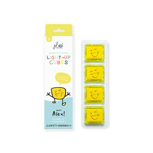Glow Pals - Alex, Yellow (4-pack)