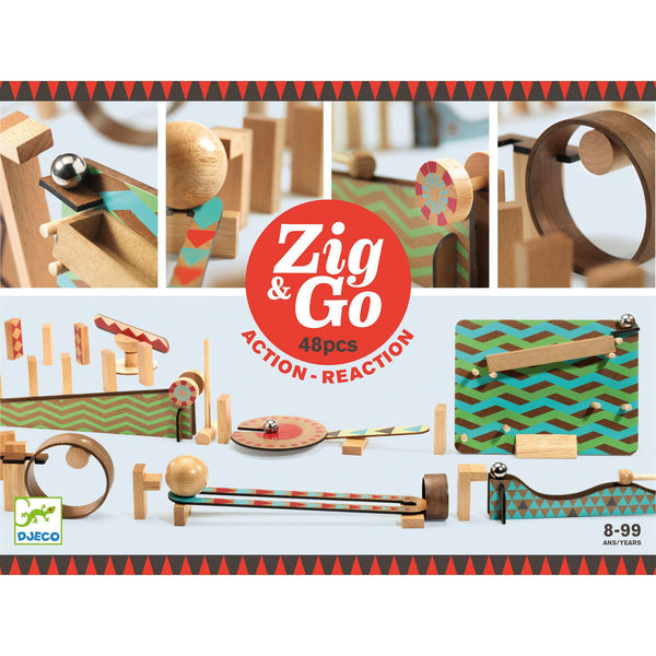 Zig & Go - Game of Chain Reactions - 48 piece