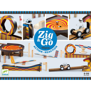 Zig & Go - Game of Chain Reactions - 45 piece