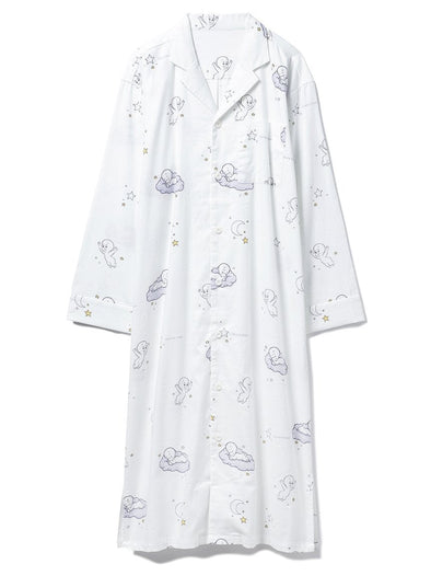 【CASPER】Flannel Shirt Dress