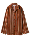 HOMME Striped Pajama Shirt