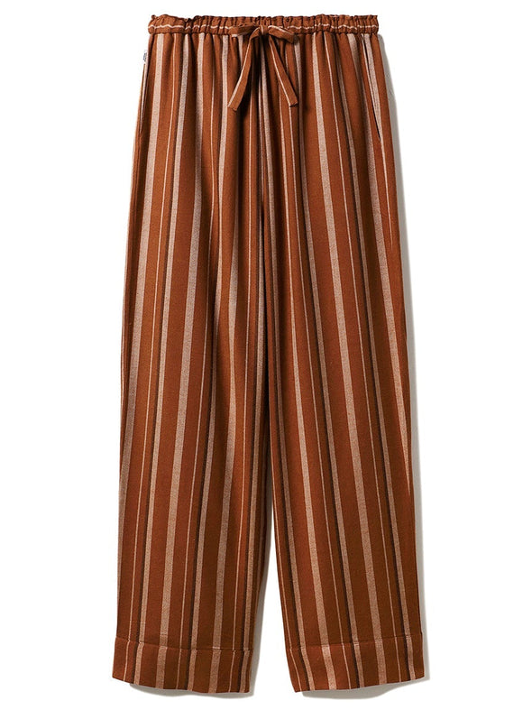 HOMME Striped Long Pants